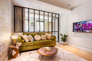 Airbnb's met glazen deuren