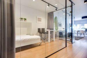 6 x slaapkamers met staal